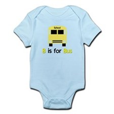 yellow school bus Infant Bodysuit