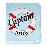 CAPTAIN ANDY baby blanket
