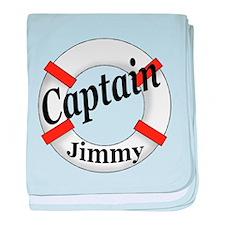 Captain Jimmy baby blanket