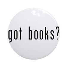got books? Ornament (Round)