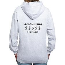 Accounting Genius Zip Hoodie