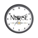 Nurse Decorative Line Wall Clock