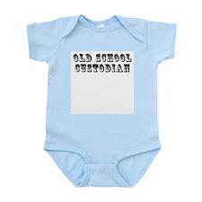 Old School Custodian Infant Bodysuit