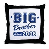 Big Brother Since 2008 Throw Pillow