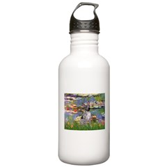 Lilies2-Am.Hairless T Water Bottle