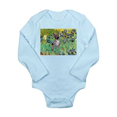 Irises-Am.Hairless T Long Sleeve Infant Bodysuit