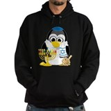 Hanukkah Scarf Penguin Hoodie