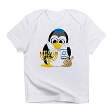 Hanukkah Scarf Penguin Infant T-Shirt