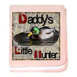 Cute Hunter baby blanket