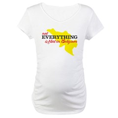 not everything is flat in Bel Maternity T-Shirt