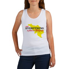 not everything is flat in Bel Women's Tank Top