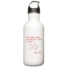 Victims and Suspects and Clue Water Bottle