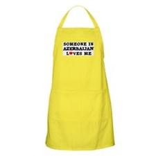 Someone in Azerbaijan BBQ Apron
