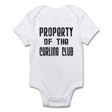 Property of the Curling Club Infant Creeper
