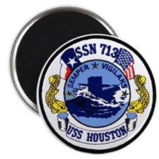 USS Houston SSN 713 Magnet