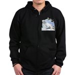 Labradors Zip Hoodie (dark)