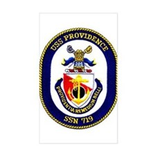 USS Providence Rectangle Decal