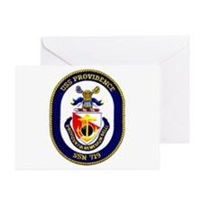 USS Providence Greeting Cards (Pk of 10)