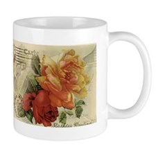 Vintage Paris Roses Small Mug