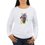 Japanese Irises Women's Long Sleeve T-Shirt