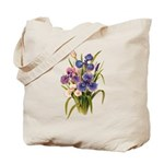 Japanese Irises Tote Bag