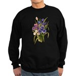 Japanese Irises Sweatshirt (dark)