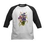 Japanese Irises Kids Baseball Jersey
