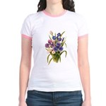 Japanese Irises Jr. Ringer T-Shirt