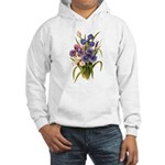 Japanese Irises Hooded Sweatshirt