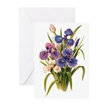 Japanese Irises Greeting Cards (Pk of 20)