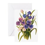 Japanese Irises Greeting Cards (Pk of 10)