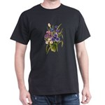 Japanese Irises Dark T-Shirt