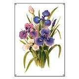 Japanese Irises Banner