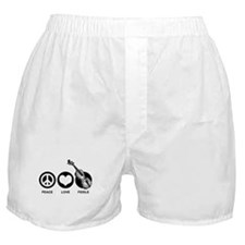 Peace Love Fiddle Boxer Shorts