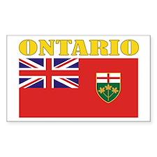 Ontario Flag Decal