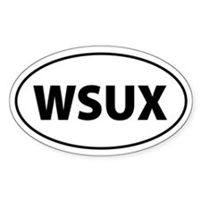 WSUX Anti-Bush Oval Decal