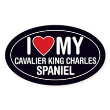 LoveMy Cavalier King Charles Spaniel Sticker/Decal