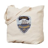 Sag Harbor New York Police Tote Bag