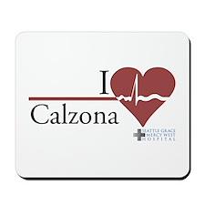 I Heart Calzona - Grey's Anat Mousepad