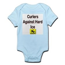 Curlers Against Hard Ice Infant Creeper