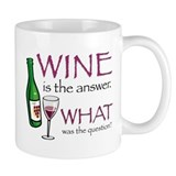 Wine is the Answer Coffee Mug