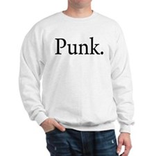 Punk. Sweatshirt
