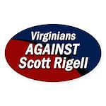 Virginia Against Scott Rigell bumper sticker