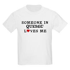 Someone in Quebec Kids T-Shirt