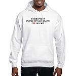 Someone in Prince Edward Isla Hooded Sweatshirt