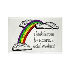 Thank Heaven Hospice Rectangle Magnet