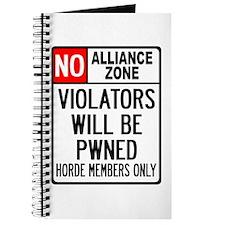 No Alliance Zone Journal