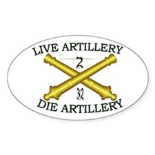 2nd Bn 32nd Field Artillery Decal