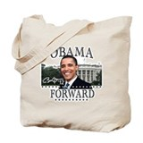 Obama Forward 2012 Tote Bag