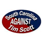 South Carolina Against Tim Scott sticker